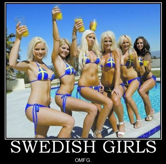 Garotas suécas